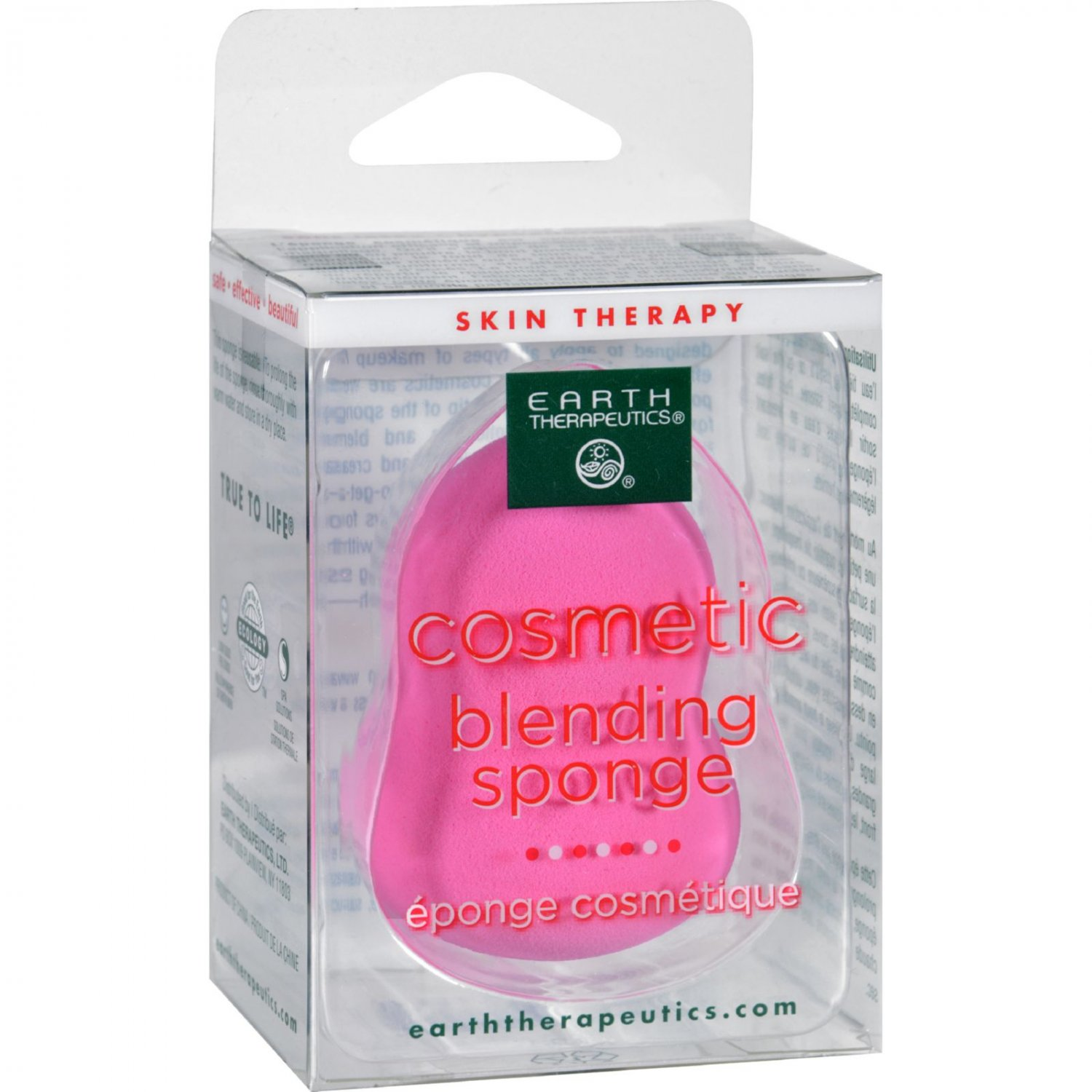 Earth Therapeutics Cosmetic Blender - Pink - 1 Count