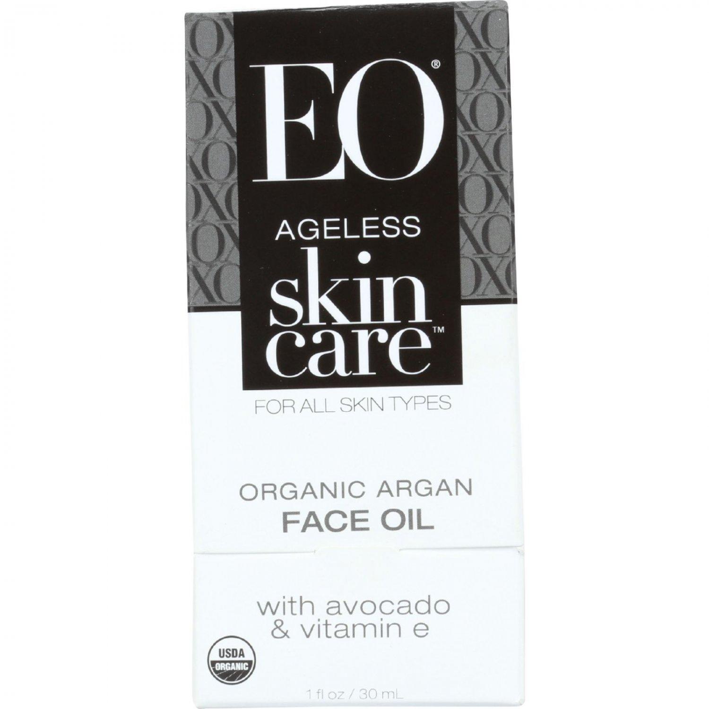 EO Products Argan Face Oil - Organic - Ageless - 1 oz - 1 each