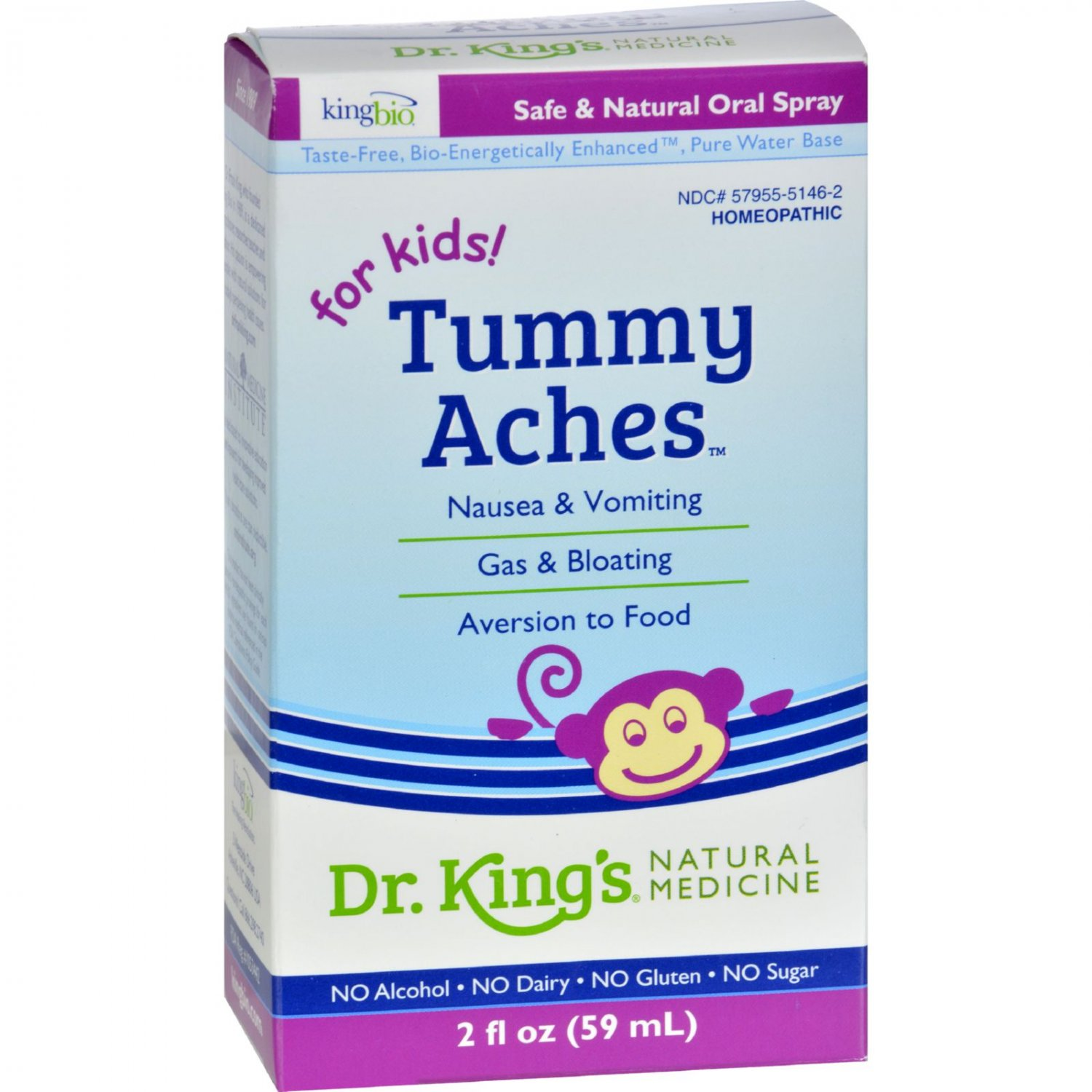 King Bio Homeopathic Tummy Aches - 2 oz