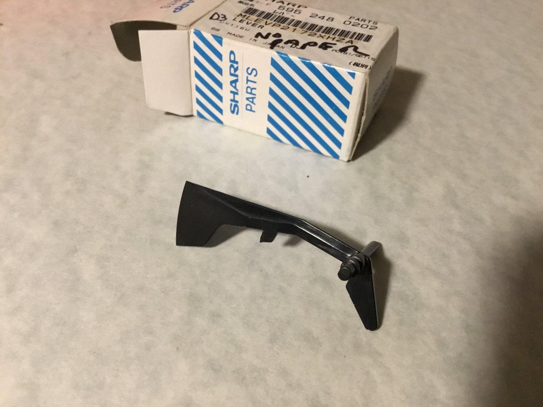 Sharp MLEVP2172XHZA lever for UX116U fax