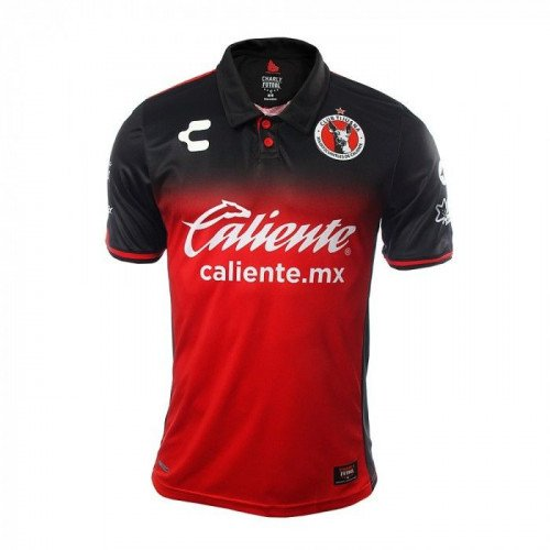 BNWT Xolos De Tijuana Home 2017/18 Red-Black JERSEY Liga Mx
