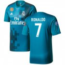 Men's Cristiano Ronaldo #7 Real Madrid 2017/18 Third #CR7 JERSEY