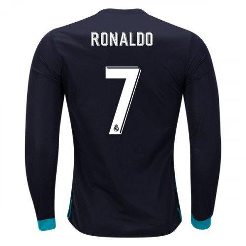 ad8bf258e Cristiano Ronaldo LS Real Madrid 2017 18 Away  CR7 Jersey -