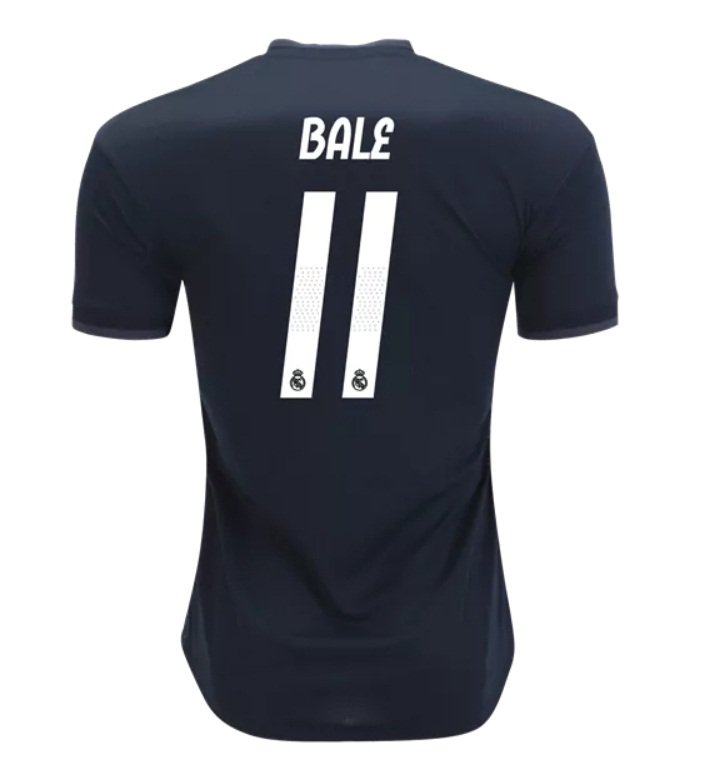 eceab20c9 Gareth Bale  11 Real Madrid black 2018-2019 away Jersey New Free Shipping