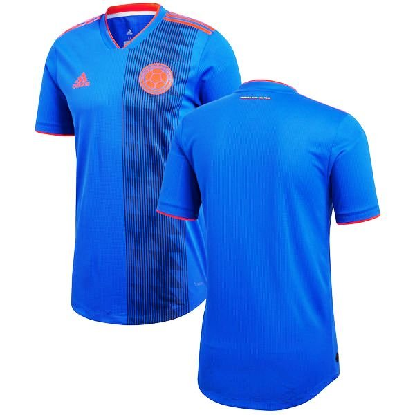 e27c0173f8b COLOMBIA 2018-2019 Men's WORLD CUP ROYAL BLUE JERSEY