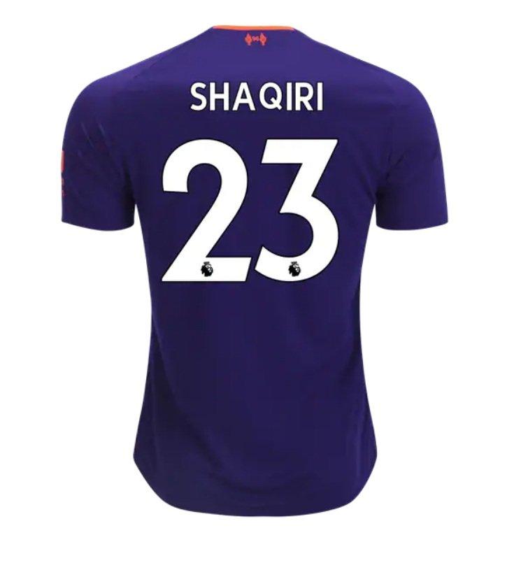 6939176a479 Xherdan Shaqiri  23 Liverpool 2018 2019 Away Jersey by New Balance - white New  Free Shipping