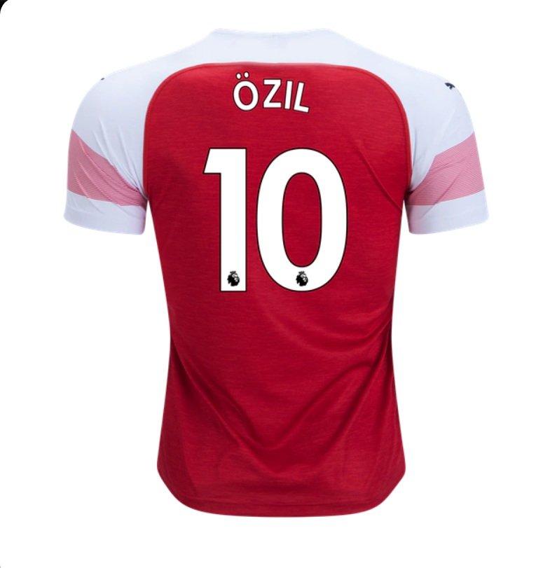 acf234e14ee Mesut Ozil  10 Arsenal 2018-2019 Home Jersey New Free Shipping