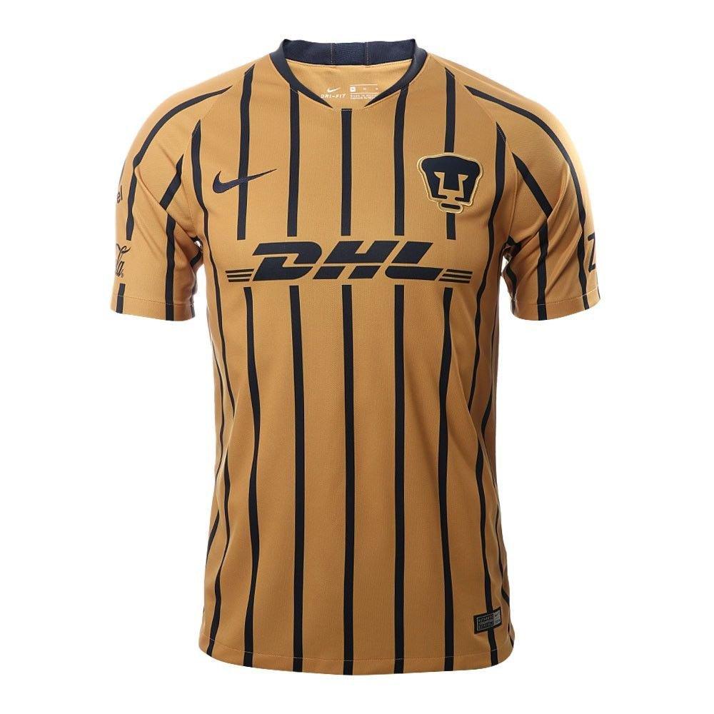 a91c78d2291 FAN SHIRT soccer Pumas UNAM LIGA MX away Jersey 2018-2019 - white New Free  Shipping