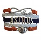 Houston Astros Bracelet, Houston Astros Jewelry and Perfect Baseball Fan Gift