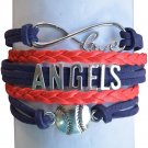 Anaheim Angels Bracelet, Los Angeles Angels of Anaheim Jewelry and Perfect Baseb