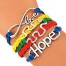 Autism Jewelry, Autism Hope Bracelet, Autism Puzzle Piece Jewelry