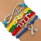 Autism Jewelry, Autism Speaks Bracelet, Autism Puzzle Piece Jewelry