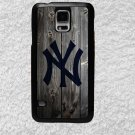 New York Yankees Smart Phone Hard Case for Samsung or iPhone - MLB Wood Style Design for Cell