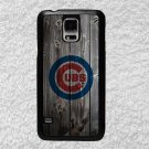Chicago Cubs Smart Phone Hard Case for Samsung or iPhone - MLB Wood Style Design for Cell
