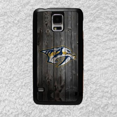 Nashville Predators Smart Phone Hard Case for Samsung or iPhone - NHL Wood Style Design for Cell