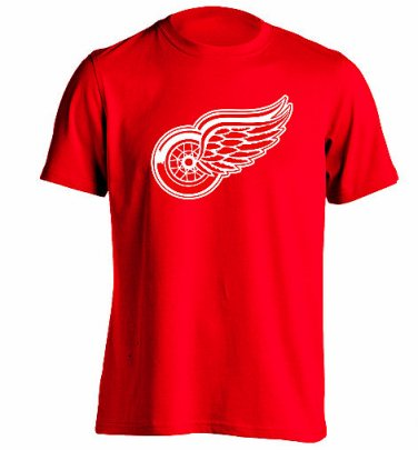 Detroit Red Wings T Shirt Men's Sizes XS-3XL New Red Short Sleeve NHL Hockey Stanley Cup