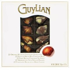Guylian Belgian Seashells, a box of 250 gr. (0.55 lbs)