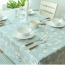 Floral table cloth linen cotton cloth coffee table cloth cover towel tablecloth customized