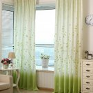Curtain Window Drapes Rustic Modern elegant printed semi-shade curtain for living room bedroom