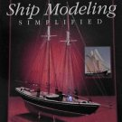 Ship Modeling Simplified Frank Mastini Softcover Book 1990 Boat Ships