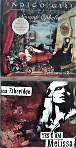 2 CD's Mixed Artist: Melissa Etheridge,  Indigo girls