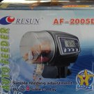Fish Feeder Automatic Fish Feeder - Food Hopper Holds Resun AF-2005D LCD Display