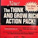 THE THINK AND GROW RICH ACTION PACK NAPOLEON HILL 1972 Soft Cover