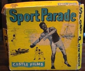 VINTAGE 8MM CASTLE FILMS SPORT PARADE FOOTBALL PARADE 1957