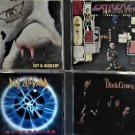 4 CD's Def Leppard, Extreme, Aerosmith, Black crowes
