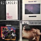 The  Pretenders, Level 42, Tears for Fears, UB40, 4- CD's