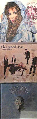 3 CD's The Best Of Stevie Nicks - Timespace, Eagles, Fleetwood Mac - The Dance