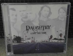 2 CD's, Daughtry : Leave This Town CD, Daughtry
