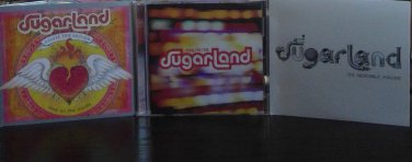 Sugarland CD's Enjoy the ride, Love on the inside & the incredible machine