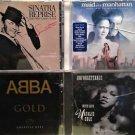 Natalie Cole, Frank Sinatra, ABBA, Maid in Manhattan, 4- CD's