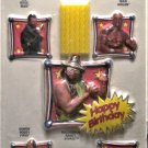 Vintage Wilton WWF Cake Top Set - Hulk, Machoman, Piper, Boss Man 1992