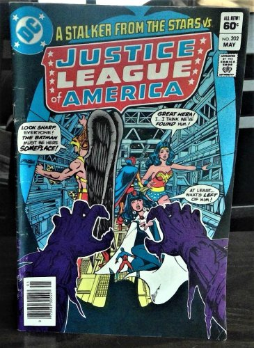 Justice League of America Comic Book #202, DC Comics 1982