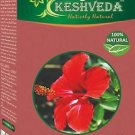 PURE HIBISCUS POWDER 100 GM 100% Pure Natural Color Herb BY KEHSVEDA-FREE SHIP