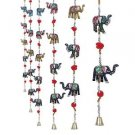 Rajasthani Haat Elephant Door Hanging Home Decor- Set of 2-Length 96 cm