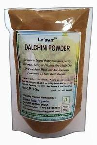 Pure 100 % Herbal Le'ayur Dalchini (Cinnamon) Powder, 100 Gms Ayurvedic Herbs