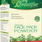 100 % PURE NATURAL ORGANIC FACE PACK POWDER-CHEMICAL FREE-BY KESHVEDA FREE SHIP