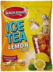 Wagh Bakri Lemon Ice Tea, 250g Lemon Flavour Instant Premix Healthy Antioxidants