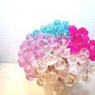 30 Pink Lavender Blue Crystal Toothpicks Mothers Day Wedding Dinner Party Picks