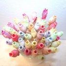 35 Bass Fish Toothpicks Beach Wedding Party Kids Food Picks Cupcakes Skewers