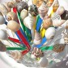 REUSABLE Seashell Party Forks Toothpicks Appetizer Martini Picks Shells Wedding