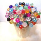 30 Crystal Mix Toothpick Wedding Supplies Dinner Party Martini Picks Mini Skewer