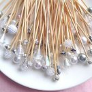 Pearl Crystal Silver Skewer Wedding Dessert Toothpick Party Food Pick Dinner