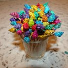 50 Dyed Seashells Toothpicks Picks Wedding Christmas Shabby Shells Skewer Beach