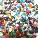 5oz Mini Glass Pebbles Crafts Aquarium Fairy Moon Stones Jewels Gem Vase Filler