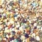 3oz Glass Earth Mini Pebbles Crafts Aquarium Stones Jewels Gem Fairy Garden Mix