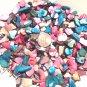 5oz. Black Ivory Blue Turquoise Pink Crushed Seashells Crafts Vase Filler Shell